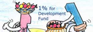 1% development fund